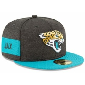 New Era ニュー エラ スポーツ用品  New Era Jacksonville Jaguars Black/Teal 2018 NFL Sideline Home Official 59FIFTY Fit