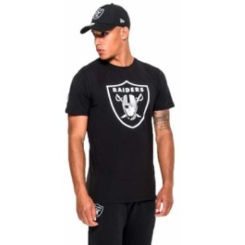 new-era ニュー エラ ファッション 男性用ウェア Tシャツ new-era oakland-raiders-team-logo