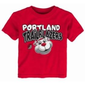 Outerstuff アウタースタッフ スポーツ用品  Portland Trail Blazers Preschool & Toddler Red Bubble Letter T-Shirt