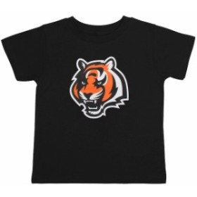Outerstuff アウタースタッフ スポーツ用品  Cincinnati Bengals Infant Black Team Logo T-Shirt