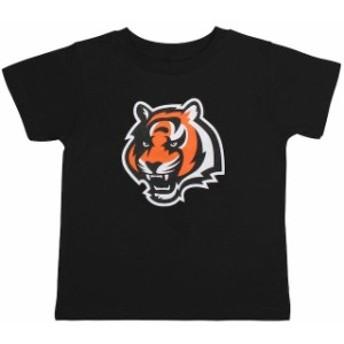 Outerstuff アウタースタッフ スポーツ用品 Cincinnati Bengals Infant Black Team Logo T-Shirt
