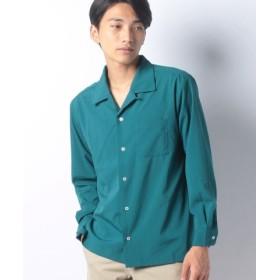 (LiFESiZE/LiFESiZE)オープンカラー ロングスリーブシャツ/メンズ カーキ