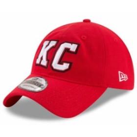 sports shoes 7bafc e9afd New Era ニュー エラ スポーツ用品 New Era Kansas City Chiefs Red Home Turf 9TWENTY  Adjustable