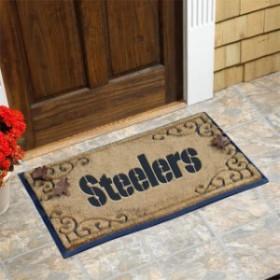 Fanatics Authentic ファナティクス オーセンティック スポーツ用品  Pittsburgh Steelers 24 X 39 Coir Door Mat