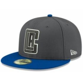 New Era ニュー エラ スポーツ用品  New Era LA Clippers Heathered Gray/Royal Shader Melt 2 59FIFTY Hat