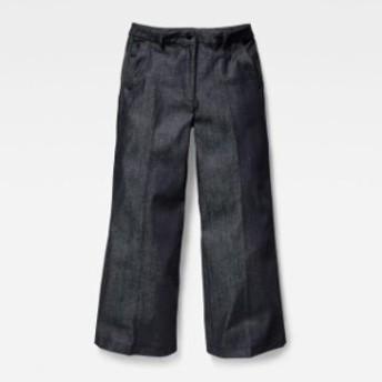 gstar ジースター ファッション 女性用ウェア ズボン gstar bronson-high-wide-leg-l34