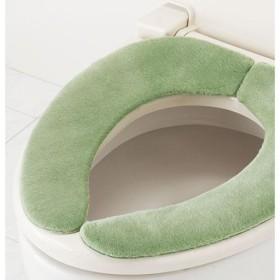 便座シート(おくだけふんわりタイプ) - セシール ■カラー:グリーン ピンク アイボリー ブルー