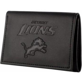 Evergreen Enterprises エバーグリーン エンタープライズ スポーツ用品  Detroit Lions Black Hybrid Tri-Fold Wal