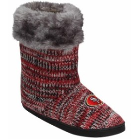 Forever Collectibles フォーエバー コレクティブル シューズ ブーツ San Francisco 49ers Womens Peak Knit Boots