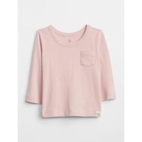 Gap ポケット長袖Tシャツ (ベビー)