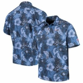 Tommy Bahama トミー バハマ スポーツ用品  Tommy Bahama New England Patriots Navy Fuego Floral Woven Button-Up Shirt