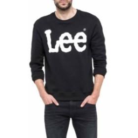 lee リー ファッション 男性用ウェア パーカー lee logo-sweatshirt
