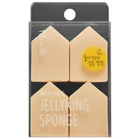 オリーブヤング ゼリー キング スポンジ Olive Young Jelly King Sponge (4ea)