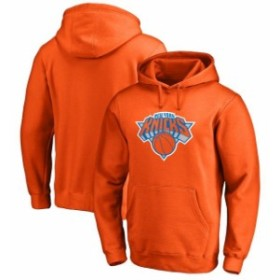 Fanatics Branded ファナティクス ブランド スポーツ用品  New York Knicks Orange Primary Logo Pullover Hoodie