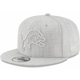 New Era ニュー エラ スポーツ用品  New Era Detroit Lions Gray Twisted Frame 9FIFTY Adjustable Snapback Hat