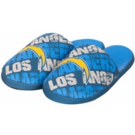 Forever Collectibles フォーエバー コレクティブル スポーツ用品  Los Angeles Chargers Navy Digital Print Slippe