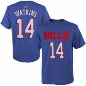 Outerstuff アウタースタッフ スポーツ用品  Sammy Watkins Buffalo Bills Youth Navy Blue Primary Gear Player Name & N