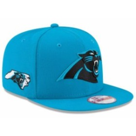 New Era ニュー エラ スポーツ用品  New Era Carolina Panthers Blue State Clip Original Fit 9FIFTY Adjustable Snapback H