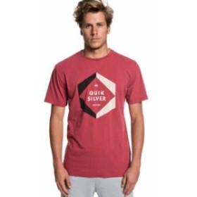 quiksilver クイックシルバー ファッション 男性用ウェア Tシャツ quiksilver hexa-logo