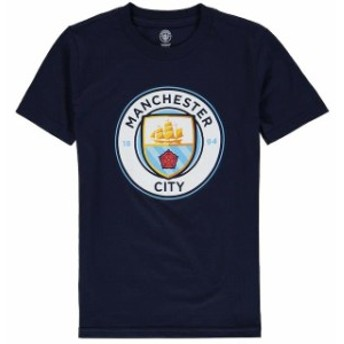 Outerstuff アウタースタッフ スポーツ用品 Manchester City Youth Navy Primary Logo T-Shirt