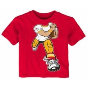 Outerstuff アウタースタッフ スポーツ用品  Kansas City Chiefs Toddler Red Yard Rush T-Shirt