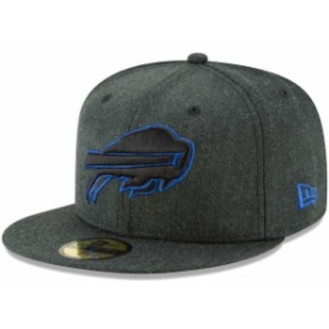 New Era ニュー エラ スポーツ用品  New Era Buffalo Bills Heathered Black Bold 59FIFTY Fitted Hat