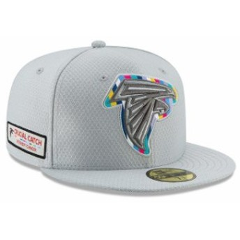 New Era ニュー エラ スポーツ用品 New Era Atlanta Falcons Gray Crucial Catch 59FIFTY Fitted Hat