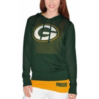 G-III 4Her by Carl Banks ジースリー フォーハー バイ カール バンクス スポーツ用品 Green Bay Packers Wom