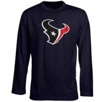 Outerstuff アウタースタッフ スポーツ用品 Houston Texans Preschool Team Logo Long Sleeve T-Shirt - Navy Blue