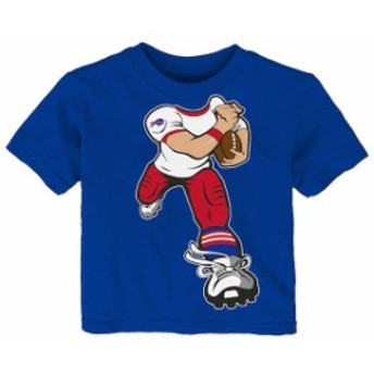 Outerstuff アウタースタッフ スポーツ用品 Buffalo Bills Toddler Royal Yard Rush T-Shirt