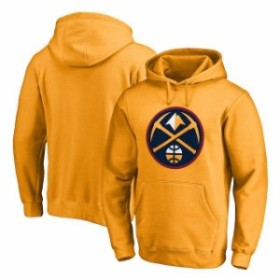 Fanatics Branded ファナティクス ブランド スポーツ用品  Denver Nuggets Gold Primary Logo Pullover Hoodie