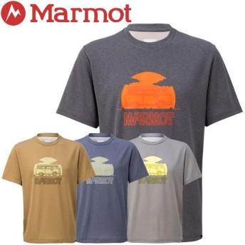 クリアランスセール30%OFF!【2点までメール便送料無料】マーモット Heather Wagon H/S Crew Tシャツ メンズ TOMNJA62