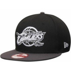 New Era ニュー エラ スポーツ用品  New Era Cleveland Cavaliers Black/Graphite 9FIFTY Snapback Adjustable Hat