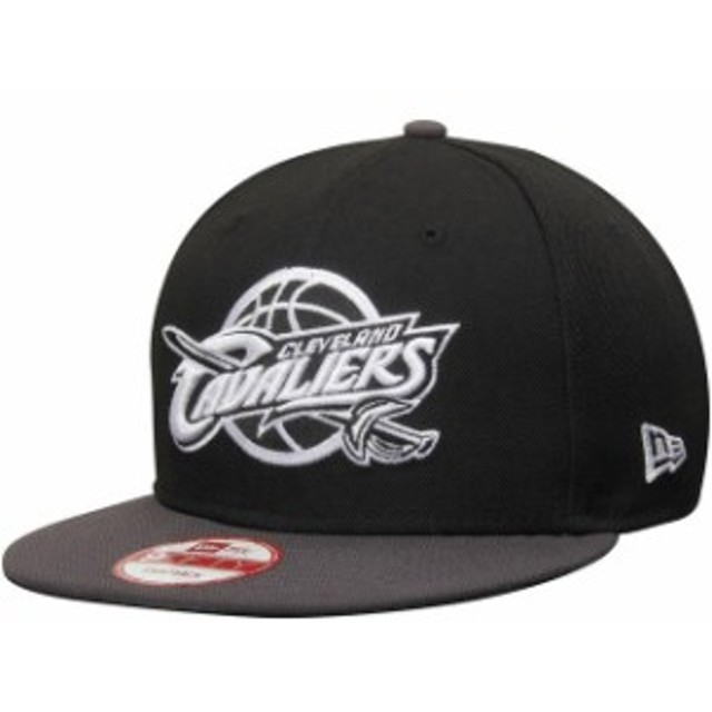 New Era ニュー エラ スポーツ用品  New Era Cleveland Cavaliers Black/Graphite 9FIFTY Snapback Adjustable Hat