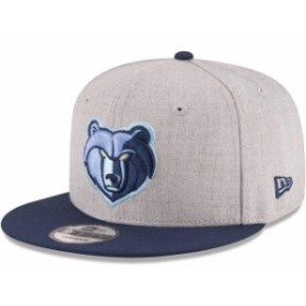 New Era ニュー エラ スポーツ用品  New Era Memphis Grizzlies Heathered Gray/Navy Two-Tone 9FIFTY Snapback Adjustable H