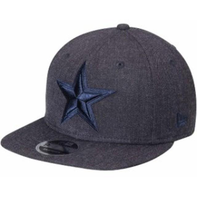 New Era ニュー エラ スポーツ用品  New Era Dallas Cowboys Heathered Navy Total Tone 9FIFTY Snapback Adjustable Hat