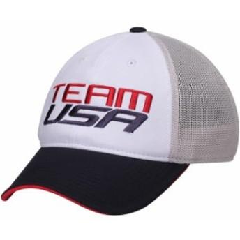 Outerstuff アウタースタッフ スポーツ用品  USA Olympics White Team USA Speed Performance Slouch Flex Hat