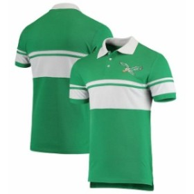 Forever Collectibles フォーエバー コレクティブル シャツ ポロシャツ Philadelphia Eagles Kelly Green Retro St