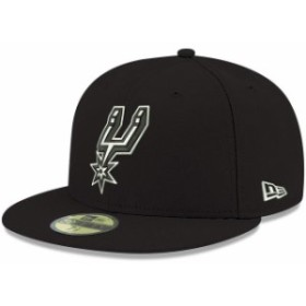 New Era ニュー エラ スポーツ用品  New Era San Antonio Spurs Black Official Team Color 59FIFTY Fitted Hat