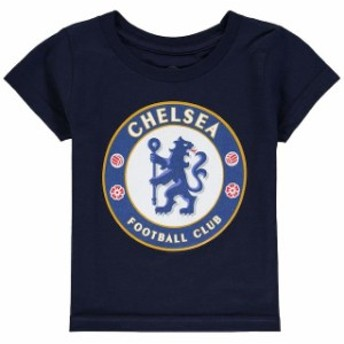 Outerstuff アウタースタッフ スポーツ用品 Chelsea Toddler Navy Primary Logo T-Shirt