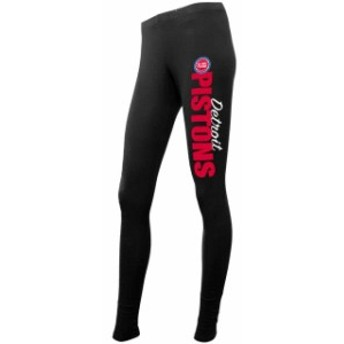 Concepts Sport コンセプト スポーツ スポーツ用品  Concepts Sport Detroit Pistons Womens Black Leggings