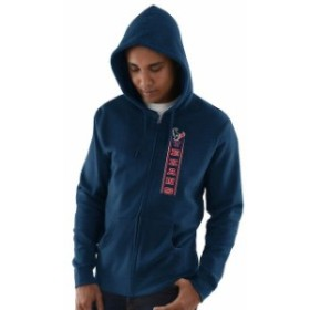 Majestic マジェスティック スポーツ用品  Houston Texans Navy Hook and Ladder Full-Zip Hoodie