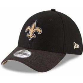 New Era ニュー エラ スポーツ用品  New Era New Orleans Saints Black Popped Shadow Team 39THIRTY Flex Hat
