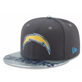 New Era ニュー エラ スポーツ用品  New Era Los Angeles Chargers Graphite NFL Spotlight 59FIFTY Fitted Hat