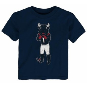 Outerstuff アウタースタッフ スポーツ用品 Houston Texans Toddler Navy Standing Team Mascot T-Shirt
