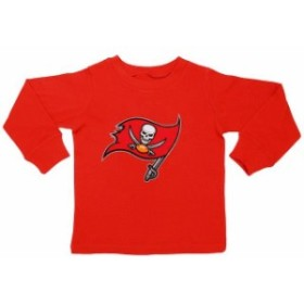 Outerstuff アウタースタッフ スポーツ用品  Tampa Bay Buccaneers Toddler Red Team Logo Long Sleeve T-Shirt