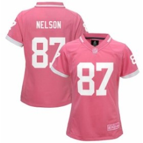 Outerstuff アウタースタッフ スポーツ用品  Jordy Nelson Green Bay Packers Youth Girls Pink Bubble Gum Jersey