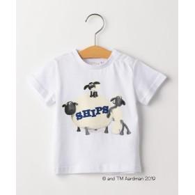 シップス キッズ SHIPS KIDS:<MAYHEM IN THE MEADOW!>Tシャツ(80~90cm) レディース ホワイト系 80 【SHIPS KIDS】