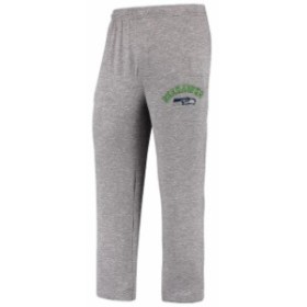 Concepts Sport コンセプト スポーツ スポーツ用品  Concepts Sport Seattle Seahawks Heathered Gray Layover Marled Kn