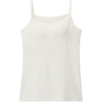 (GU)GIRLSブラフィールプチキャミソール OFF WHITE 160